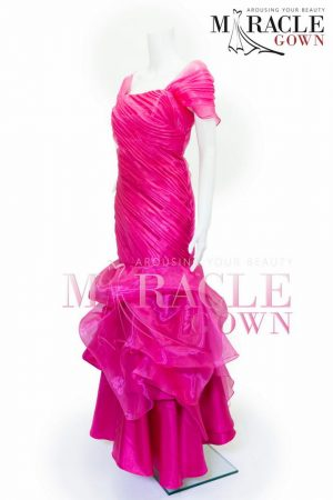 Sewa Gaun Surabaya - Miracle Gown - Boulonne Sponge Long Dress