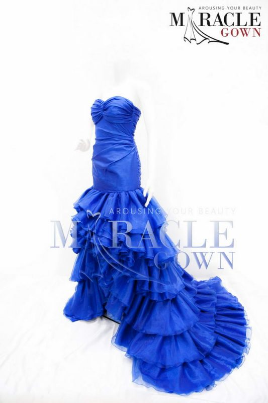 Sewa Gaun Surabaya - Royal Blue Mermaid Dress