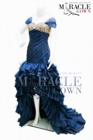 Sewa Gaun Surabaya - The Dark Blue Glitterati Dress