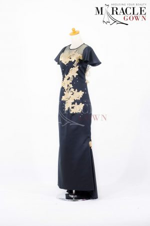 Sewa Gaun Surabaya - Miracle Gown - Princess in Dazzling Black