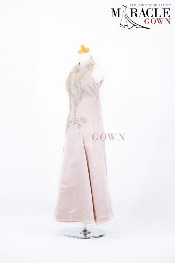 Sewa Gaun Surabaya - Miracle Gown - Saffiano Ivory Dress