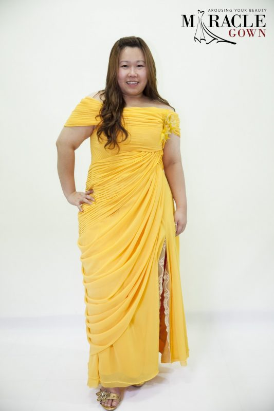 Sewa Gaun Surabaya - Miracle Gown - Testimonial 013 - Joana from Philippine