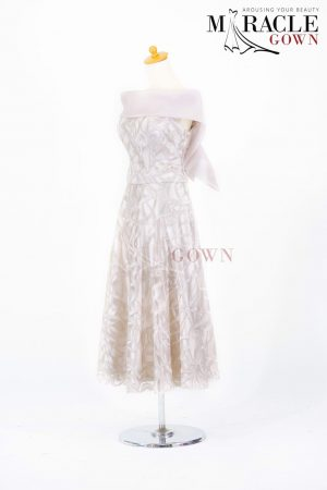 Sewa Gaun Surabaya - Miracle Gown - Winter Sky Party Dress