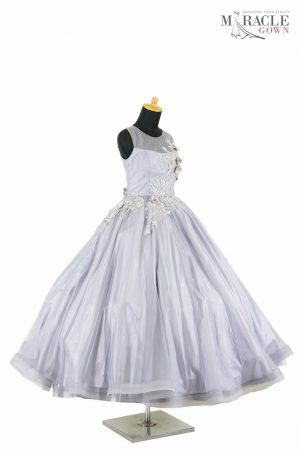 Sewa Gaun Surabaya - Miracle Gown - Frozen flower ballgown dress